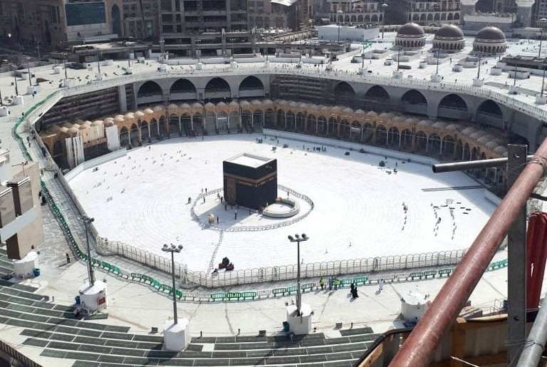 Hajj and Umrah Temporarily Suspended